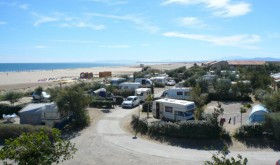 The camping's locations with sea view