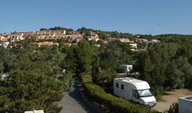 The Cap Leucate 's campsite in Leucate in région of Languedoc-Roussillon