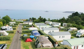 campsites by the sea to Le Cap de Brehat