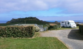 Camp Municipal La Mer campsite in Plougasnou, by the sea