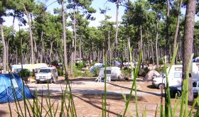 Gurp campsite close to Soulac-sur-Mer