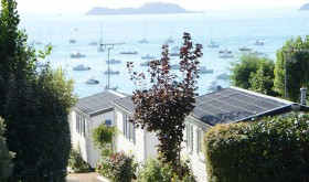 Rentals with sea view to Port Mer campsite in Cancale