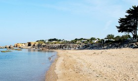 Direct access to the beach for Les Iles campsite in Penestin
