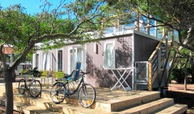 The accommodation of Le Roussillonnais campsite