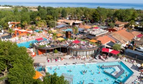 the water park for Les Sablons campsite